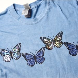 New Custom Butterfly T-Shirt